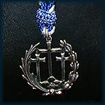 Medalla de la Cofradía en Plata de Ley