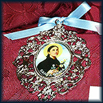 Medallón Santa Gema Galgani